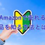 【入門】モノレートの見方・使い方を解説【Amazonで売れる商品を知る】